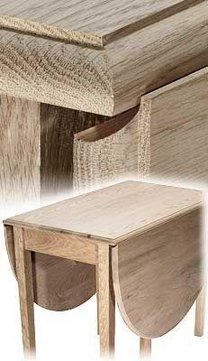 Mlcs Dropleaf Table Router Bit Sets Wood Furniture Diy