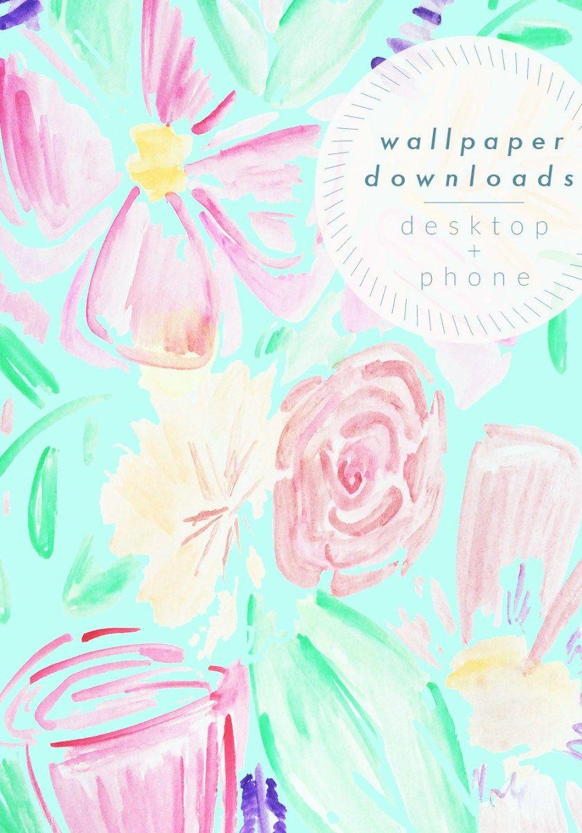 Watercolor Wallpaper Download Carpe Diem Watercolor Wallpaper