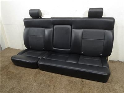 Ford F150 Oem Black Rear Seat Leather With Armrest 2004 2005 2006 2007 2008 Ford F150 Leather Seat F150