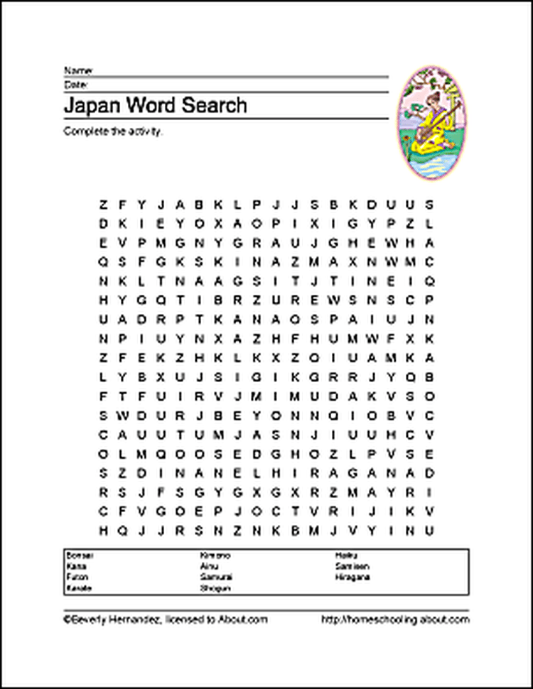 Learn about Japan with a Free Printables Set! | Japanese ...