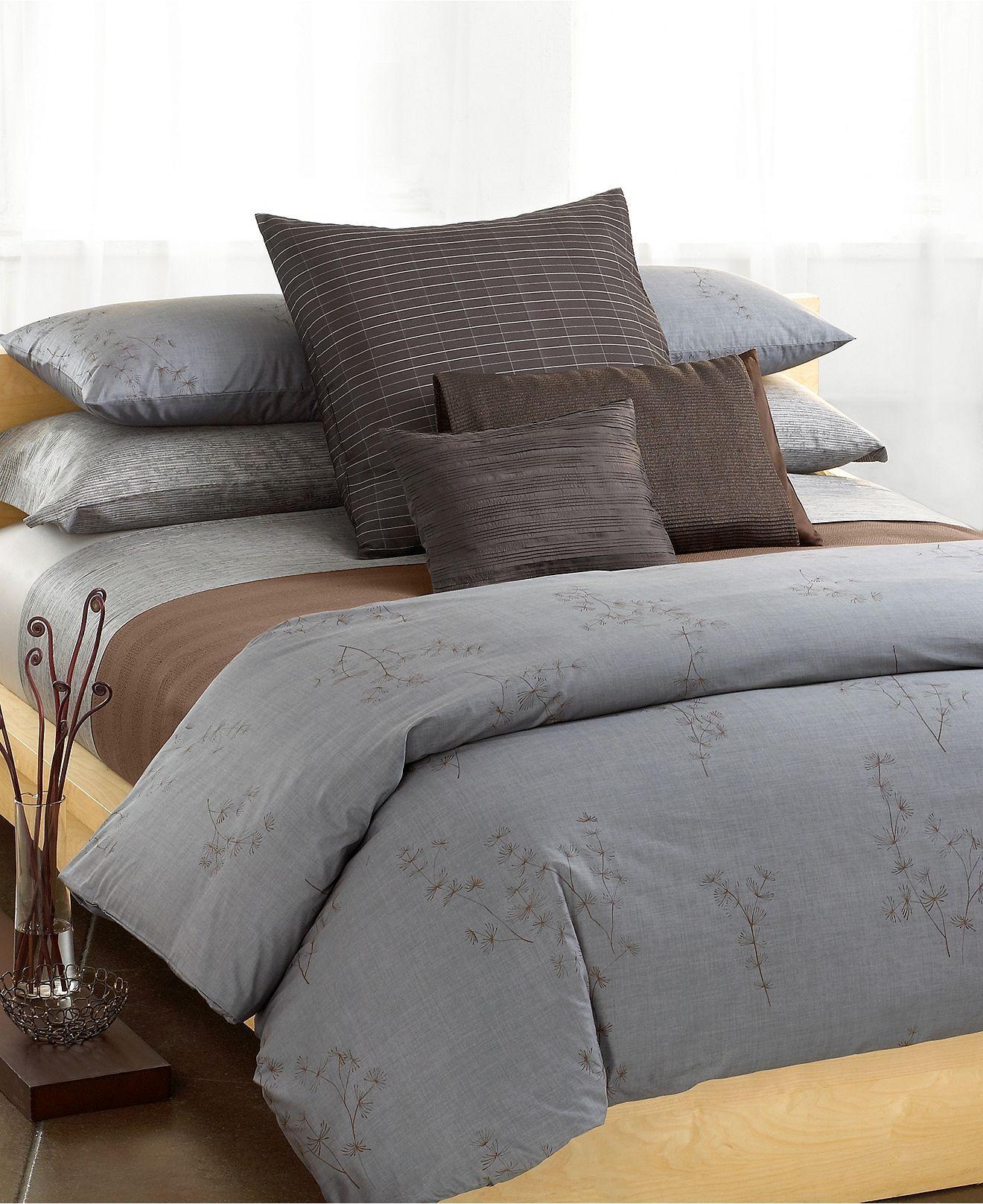 Calvin Klein Home Acacia Collection Bedding Collections Bed