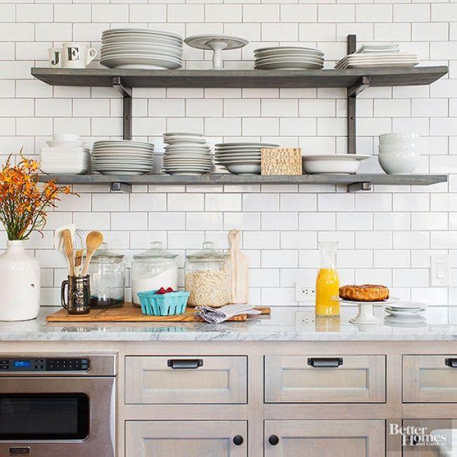 20 Ideas para aprovechar mejor el espacio en una cocina pequeña ...