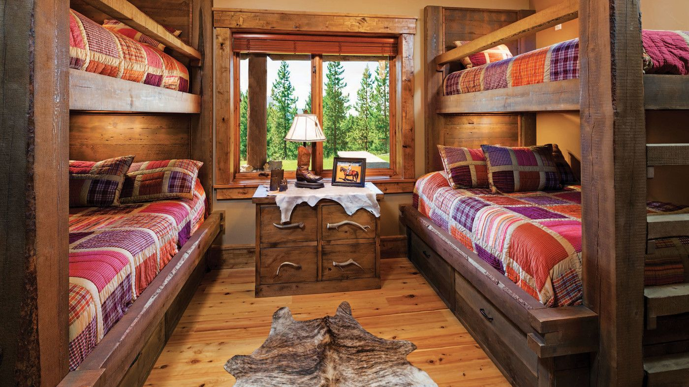 Queen loft bed ideas  Big Sky Country  CuI Magazine  Bunk bed Big sky and Queen bunk beds