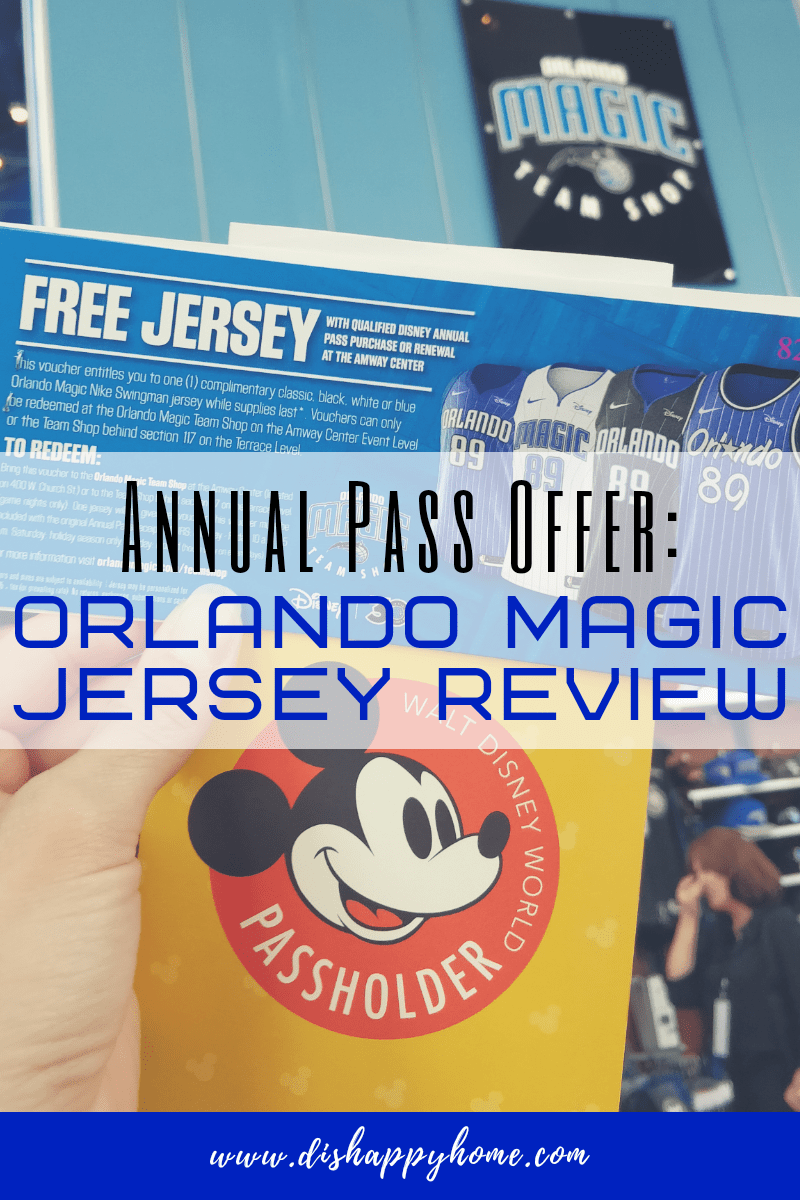 new arrivals a115e 4a598 Annual Pass Offer: Orlando Magic Jersey Review | 'Dis' Happy ...