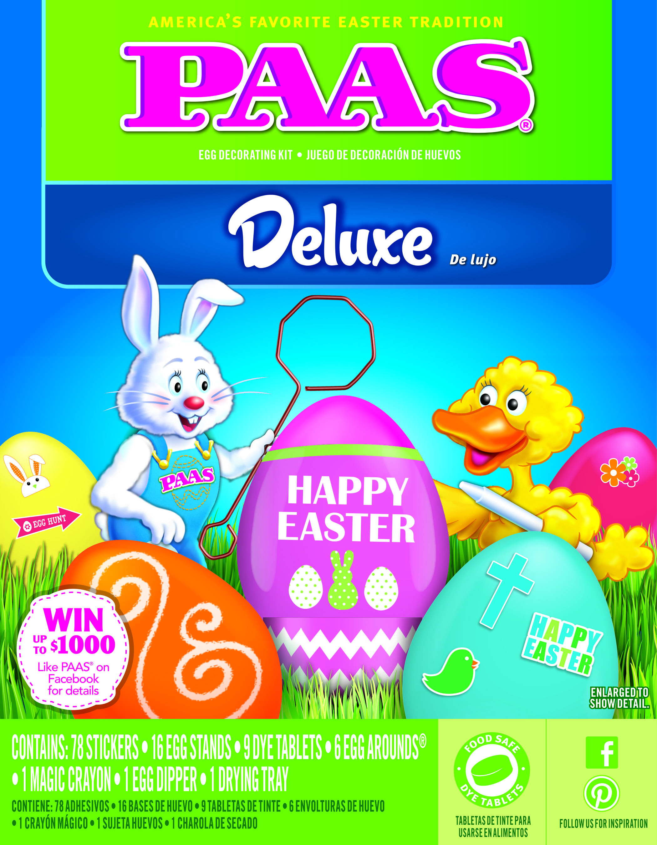 Easter Egg Decorating Kit Deluxe from PAAS | PAAS Egg ...