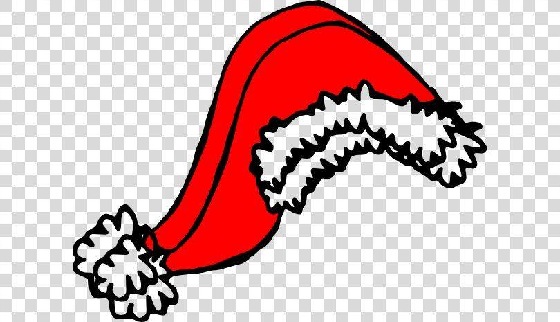 Santa Claus Santa Suit Christmas Hat Clip Art Santa Hat Gif Png Santa Claus Area Black And White Brand Cap Gif Png Art Png Christmas Hat