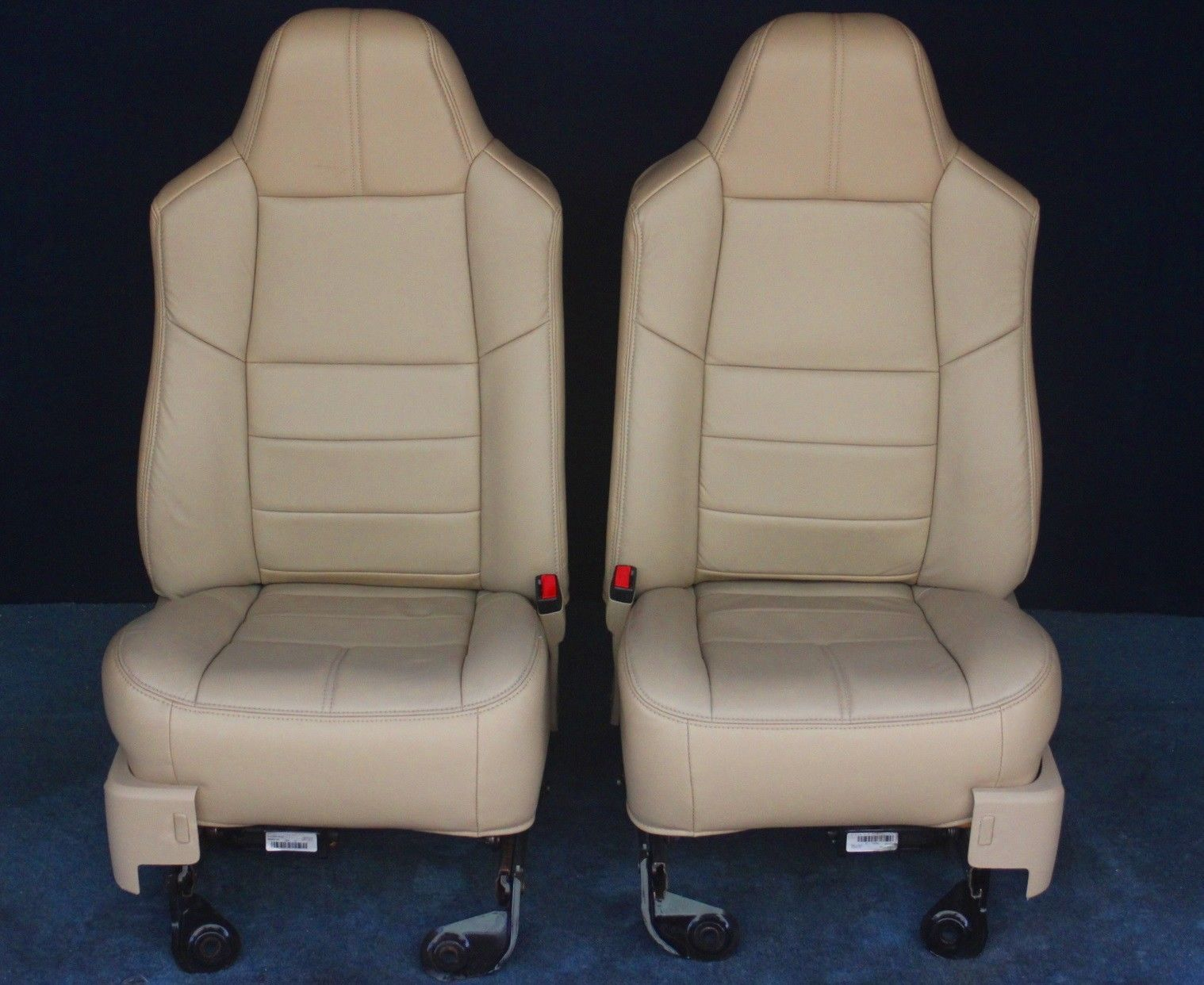 2010 2009 2008 F250 F350 Ford Seat Camel Tan Leather