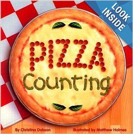 These pizzas have all the right ingredients. Pepperoni, cheese, and onions make a purr-fect pizza cat. Is it time for a clock pizza made of sausages and peppers?    Count the toppings on these pizza masterpieces, then divide them up into filling fractions. Zesty pizza facts add to the flavorful fun.