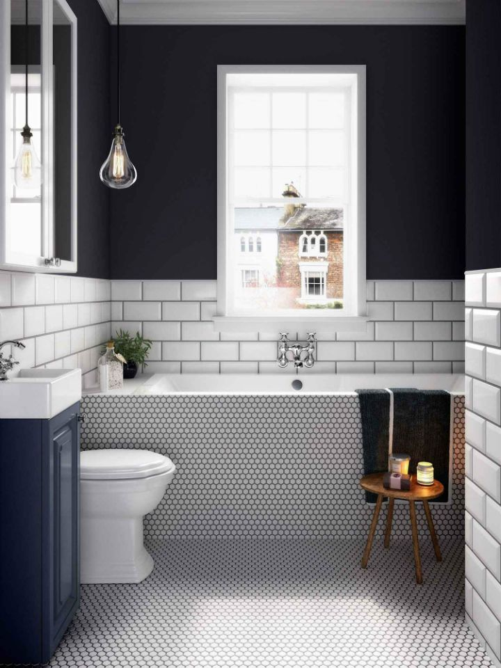 Photo of 21 bathroom ideas: why a classic black and white scheme is always a winner