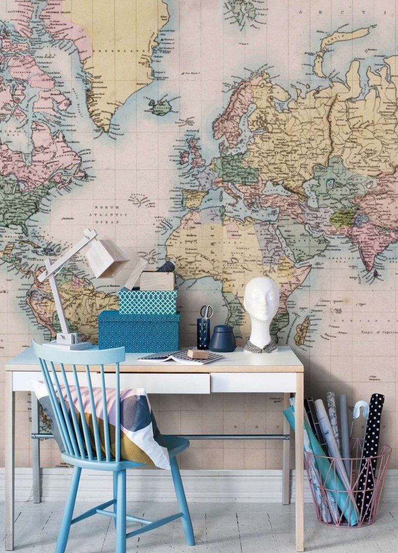 Home interior design maps world wall map for office in   interior decoration  pinterest