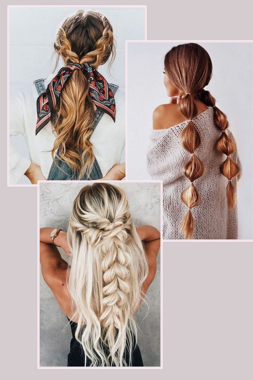 Flechtfrisuren Sind Der Grosse Trend 2019 Flechtfrisuren Geflochtene Frisuren Medium Haare