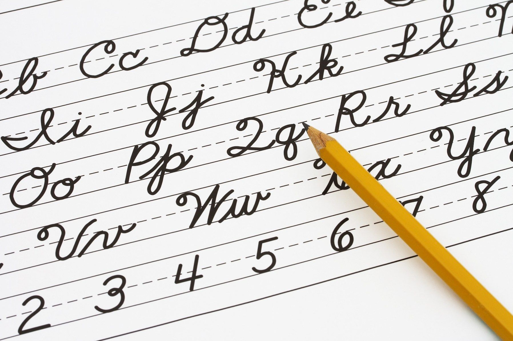 Connected Letters Connected Thinking How Cursive Writing