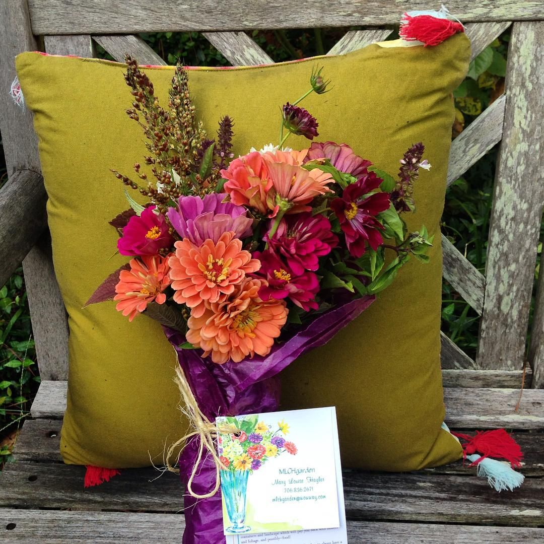 We have a place an hour away. Husband hunts. I grow flowers. $10 for wrapped bunch. Visit my website--www.mlchgarden.com