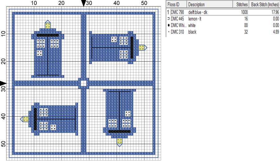 Tardis Pattern by =Magical525 on deviantART