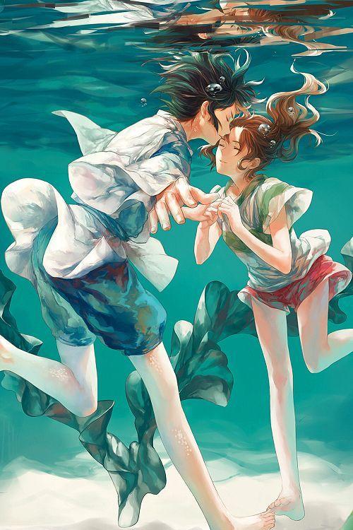 Haku Le Voyage De Chihiro : voyage, chihiro, 28155e5008701f2aec12e49764d4e965.jpg, (500×750), Ghibli, Studio, Movies