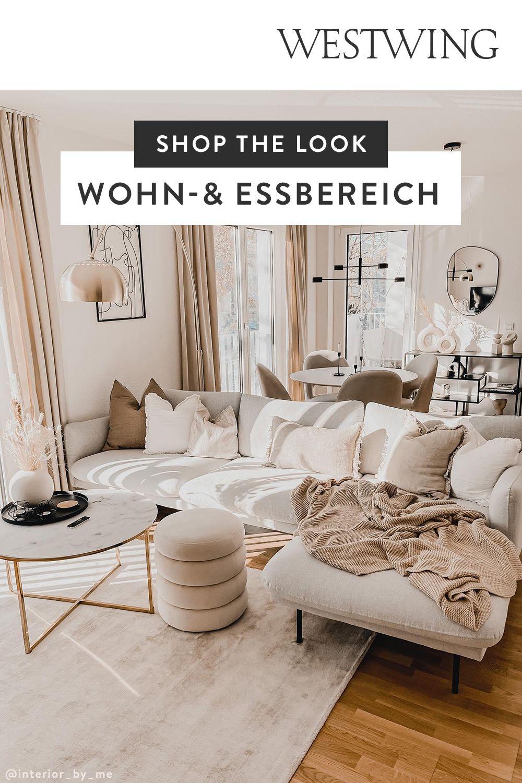 Photo of Shop the Look: kleiner Wohn-& Essbereich