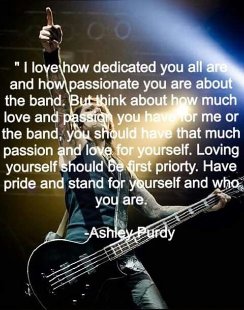 Pin By Chrissy Ratachic On Bvb Army Memes Quotes Dedication Passion