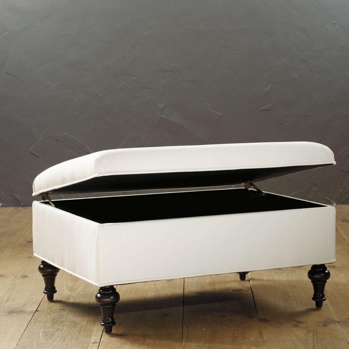 Super Tailored Storage Ottoman Ballard Designs Things I Want Short Links Chair Design For Home Short Linksinfo