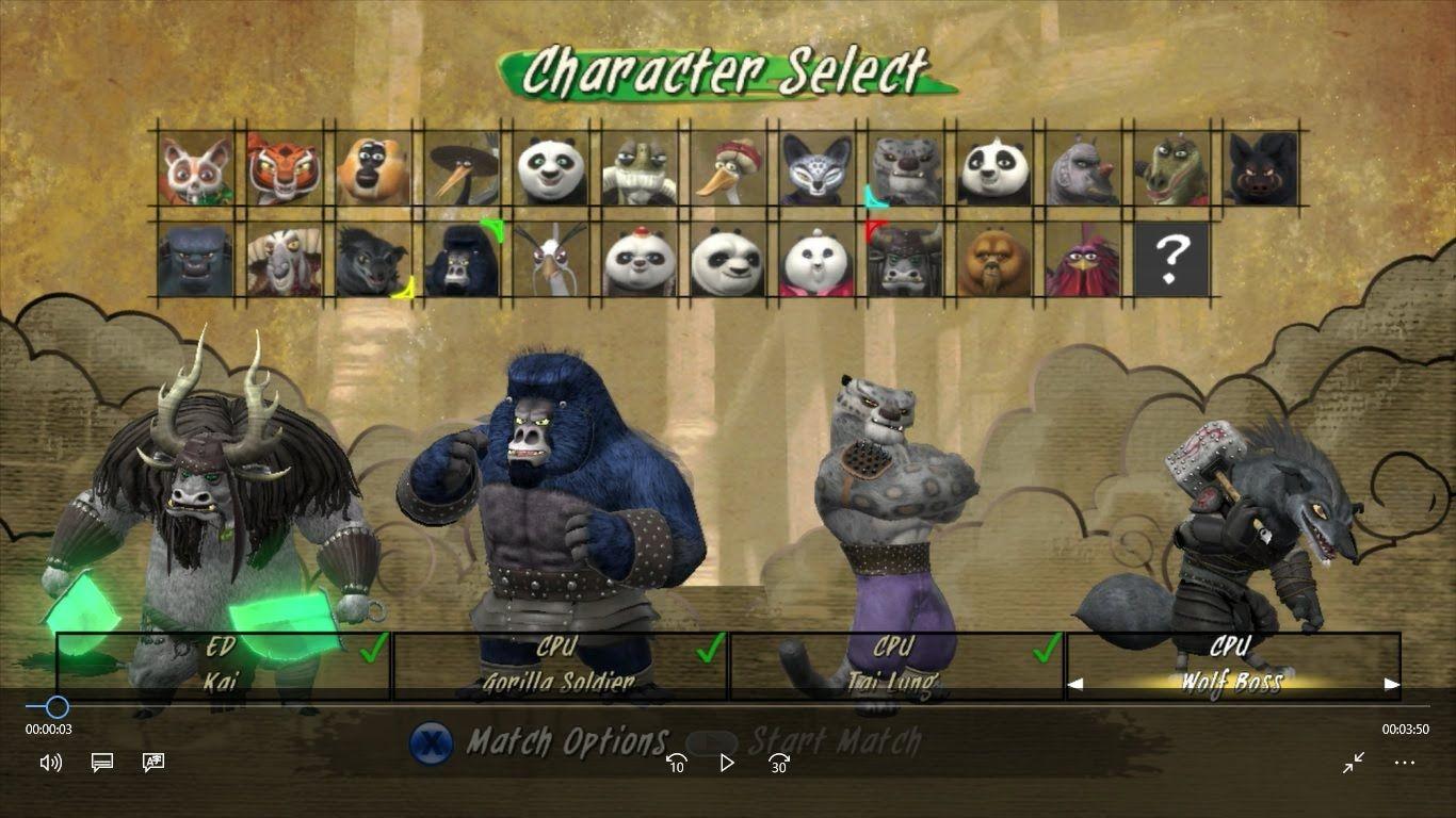 Kung fu panda showdown of legendary legends   kai, gorilla
