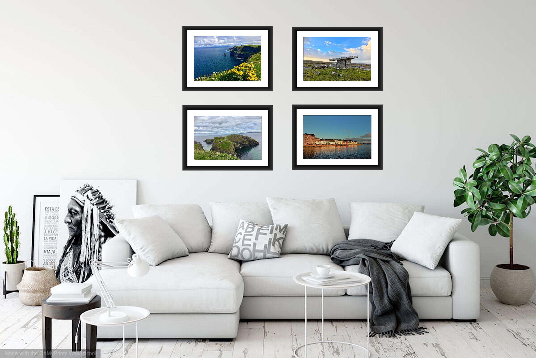 Set Of 4 Prints Of Ireland Save 25 Shop Now Wall Art Living Room Room Wall Art Travel Wall Art