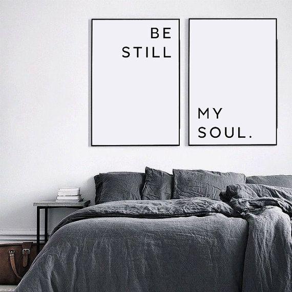 Be Still My Soul Poster, Be Still My Soul Print, Valentines day, Be ...