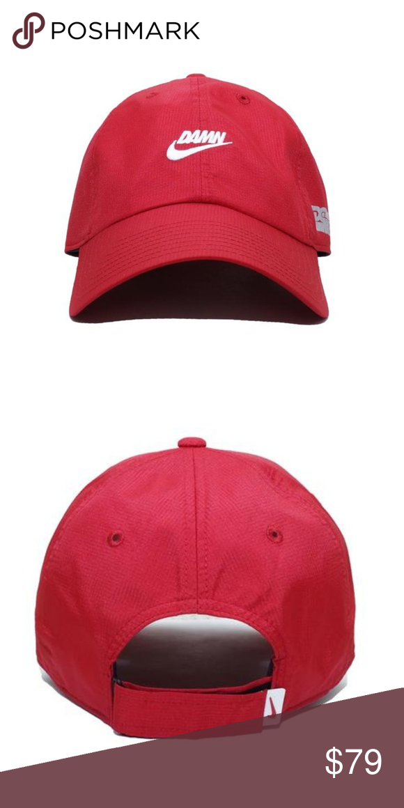 4c699c02 NWT Kendrick Lamar x Nike DAMN Swoosh Hat in Red Brand new with tags, never  worn before Kendrick Lamar x Nike DAMN Swoosh hat. One size fits all.