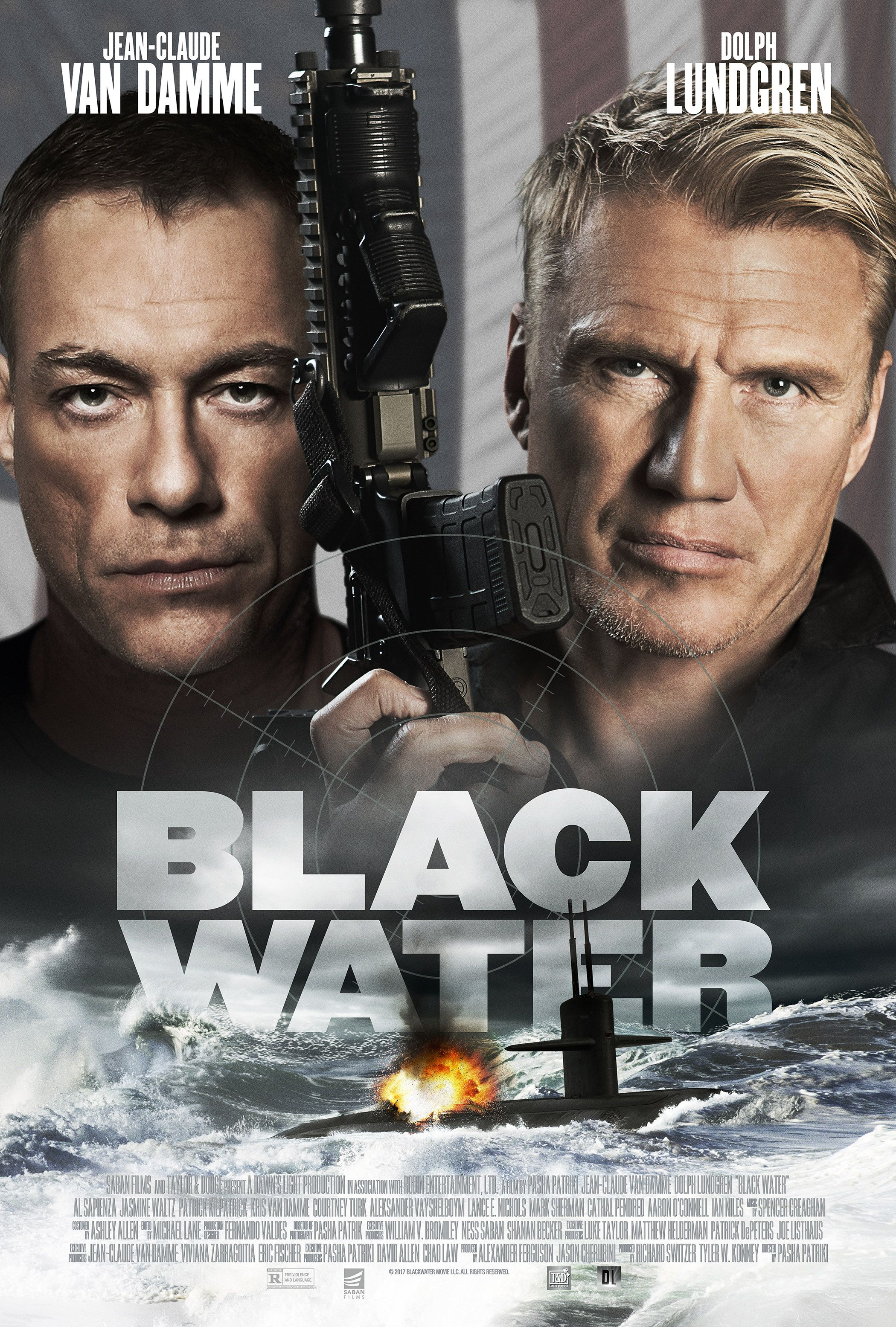 Jean-Claude Van Damme and Dolph Lundgren Join Forces in  Black Water   Trailer d94e118c15b