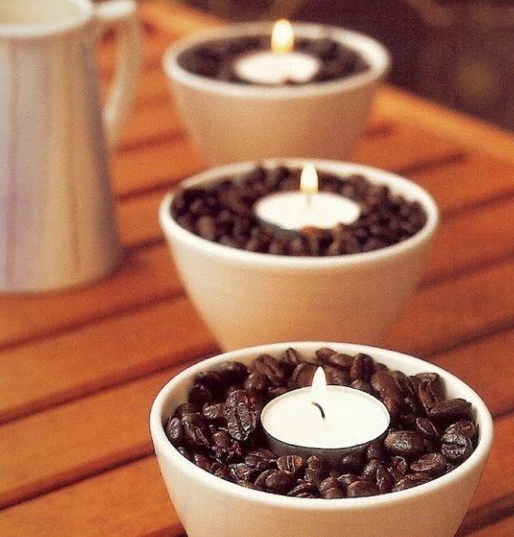 Coffee aroma with visual