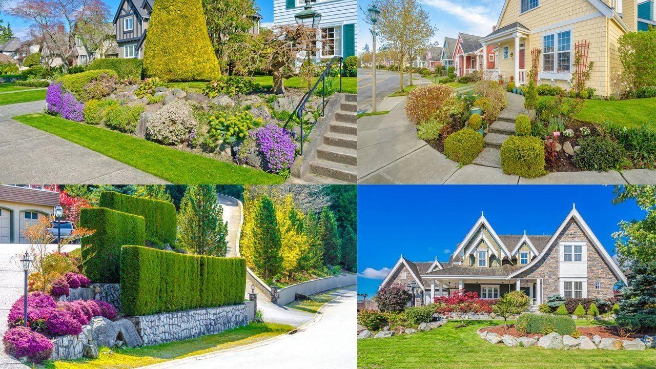 50 Desain Taman Depan Rumah Lahan Luas 2019 Part 150 Desain Taman