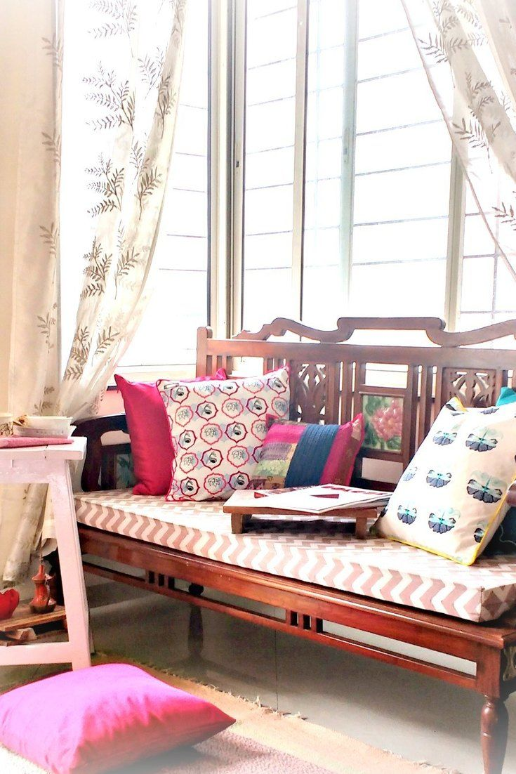 Indian Furniture Designs For Living Room: Decorating With Finds From Grandma's Attic