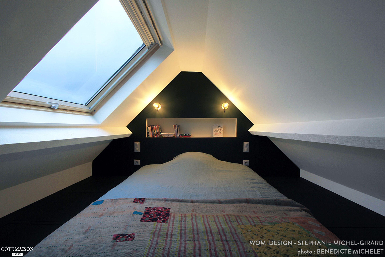 R Alisation Wow Design Am Nagement Grenier Chambre Graphisme