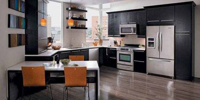 اشكال مطابخ 2020 الوان مطابخ بديكورات جديدة ميكساتك Modern Kitchen Design Minimalist Kitchen Inspiration Kitchen Design Trends