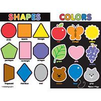 Melissa & Doug Large Chunky Puzzle - Colors and Shapes ...