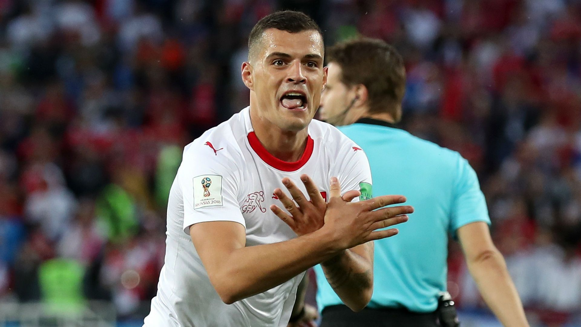 Soccer World Cup 2018 This Is More Than Football Stephan Lichtsteiner Defends Granit Xhaka Xherdan Shaqi Soccer World Cup 2018 Soccer World Fifa World Cup