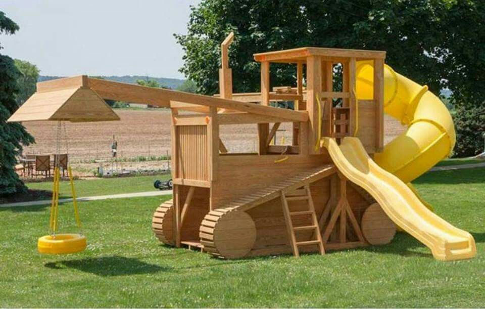 Tractor playset?  Hell yes!