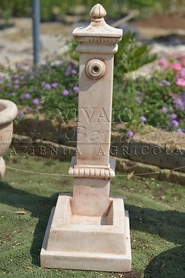 Dettagli su fontane giardino fontana edmond in cemento for Fontanelle da esterno