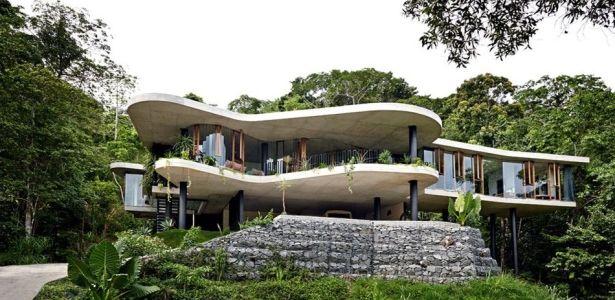 Superbe maison contemporaine sur pilotis offrant un havre de paix en australie archithecte - Melbourne maison moderne australie ...