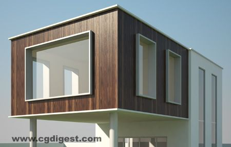 Vray Exterior Daylight Tutorial Vray Render Pinterest 3ds Max 3d And 2d