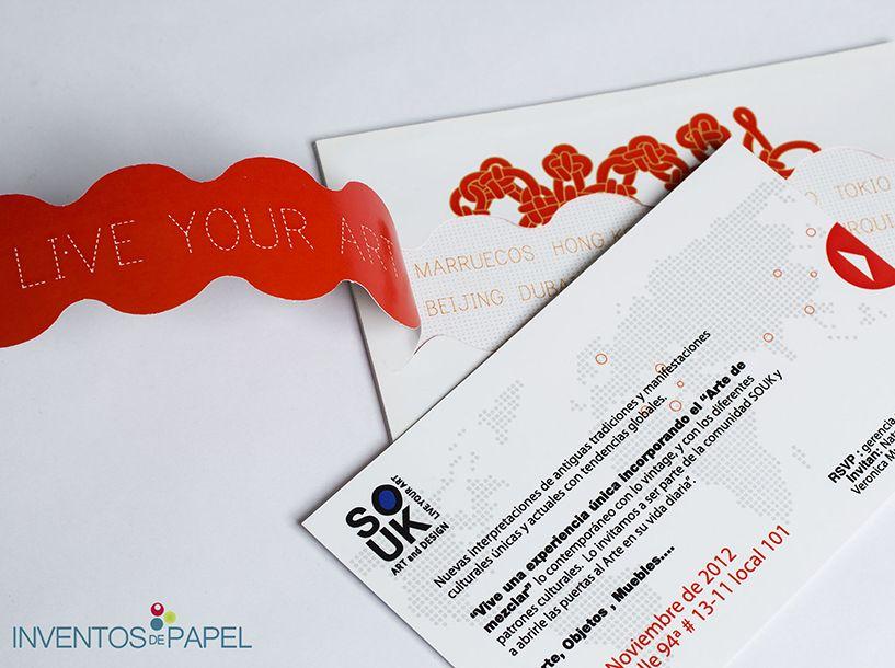 Invitación Evento Empresarial Inauguración Invitación