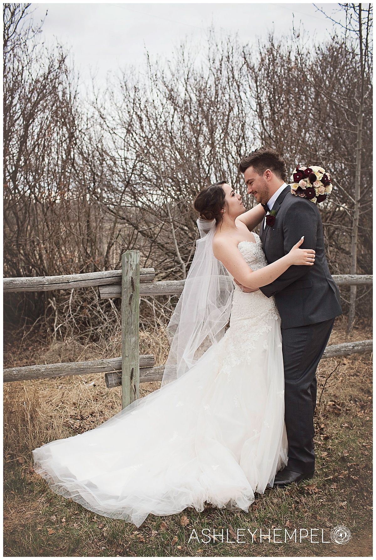 Fall outdoor wedding dresses  Wedding Photos  Wedding Dress  Outdoor Wedding  Ashley Hempel