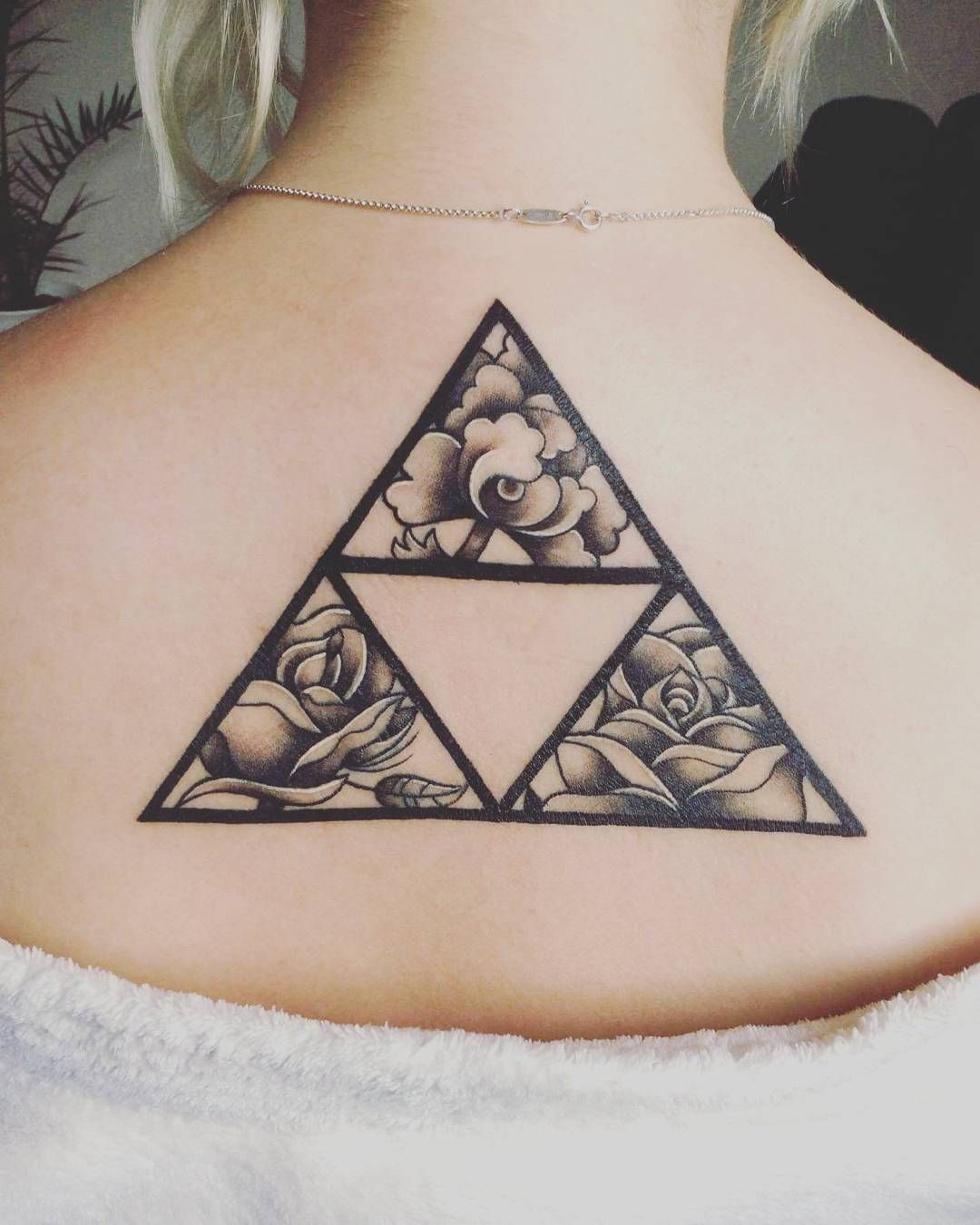Mighty Triforce Tattoo Designs amp Meaning Discover