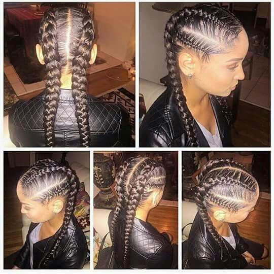 feed in cornrows cute hairstyles