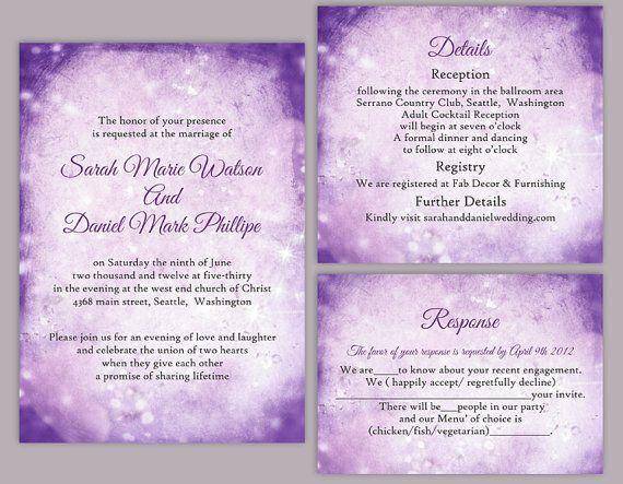 Rustic Wedding Invitation Template Download Printable Wedding Etsy Wedding Invitation Templates Rustic Wedding Invitations Rustic Instant Download Wedding Invitations