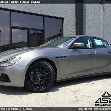 Maserati Anaheim Hills >> Jstar Motors Maserati Anaheim Hills Ghibli Blackout Wheels Emblems