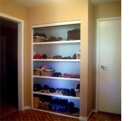 Build A Built In Cupboard, Closet Or Wardrobe With Timber And Dry Wall