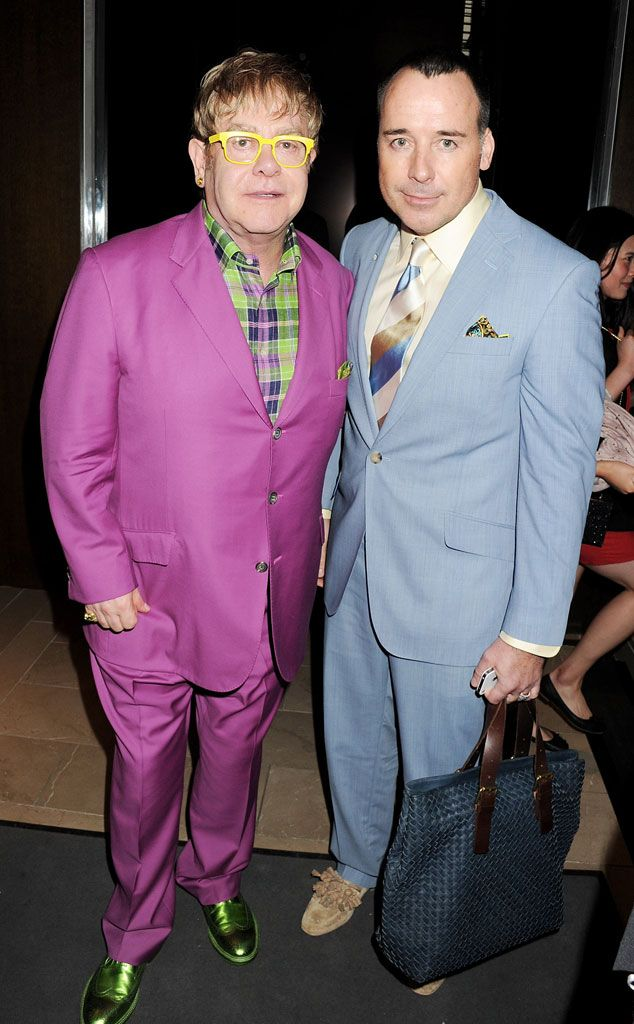 dec0c8cf3 Elton John and David Furnish Are Officially Married—Check out ...