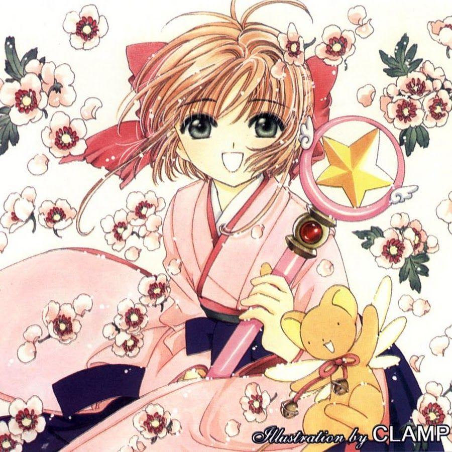 Resultado de imagen de Sakura Kinomoto de Sakura Card Captors manga