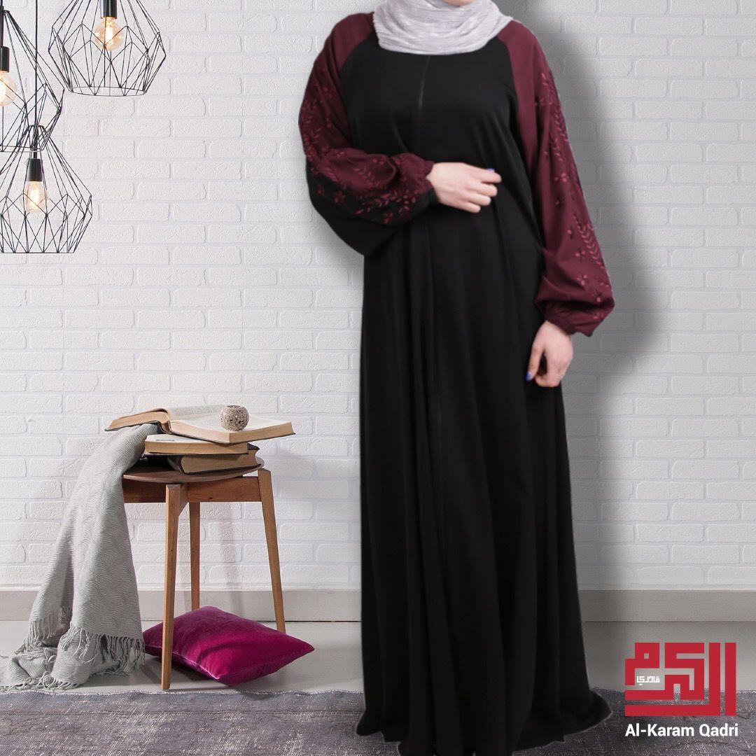عباية بتصميم ربيعي مسكرة من الأمام و من الأكمام لتناسب يومك العملي Dresses With Sleeves Long Sleeve Dress Maxi Dress