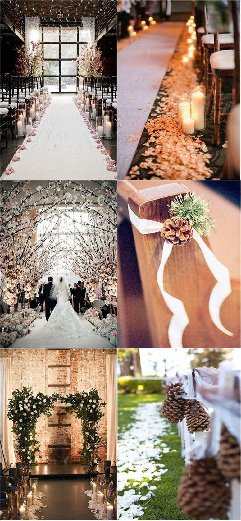 Wedding decoration ideas gold  Winter Wedding Décor Ideas That Will Take Your Breath Away  Wedding