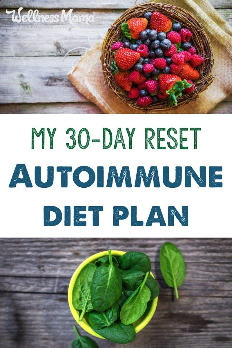 I Used This 30-day Reset Autoimmune Diet Plan To Help